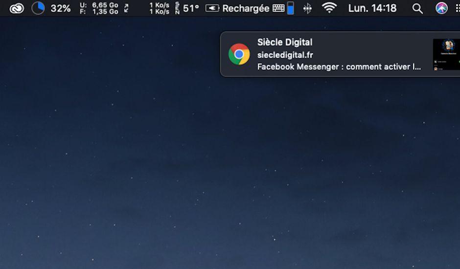 Comment désactiver les notifications sur Google Chrome
