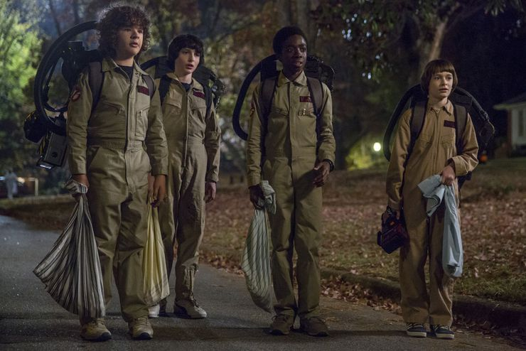 stranger things saison 2 ghostbusters