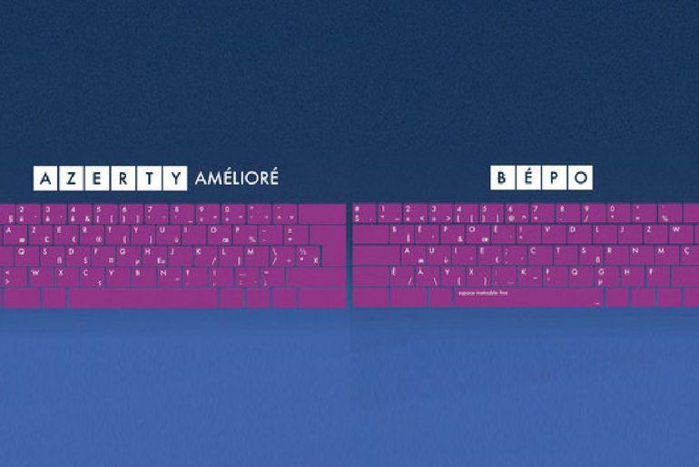 Les deux nouveaux claviers français