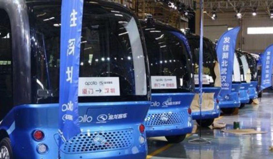 Apolong, minibus autonome