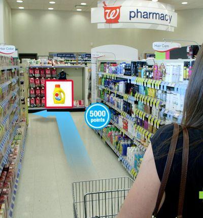 realite augmentee walgreen