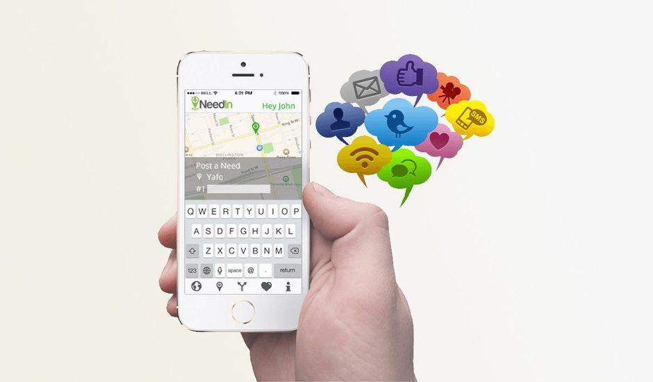 NeedIn : l'application qui permet de réclamer des commerces de proximité