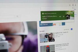Chrome lance une nouvelle fonctionnalité pour stopper a lecture d'un contenu.