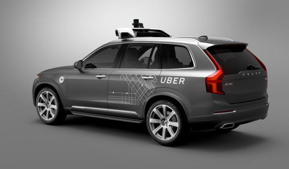 Uber voitures sans conducteur