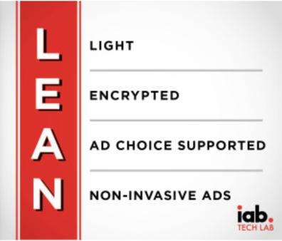 Le programme LEAN de l'Interactive Advertising Bureau