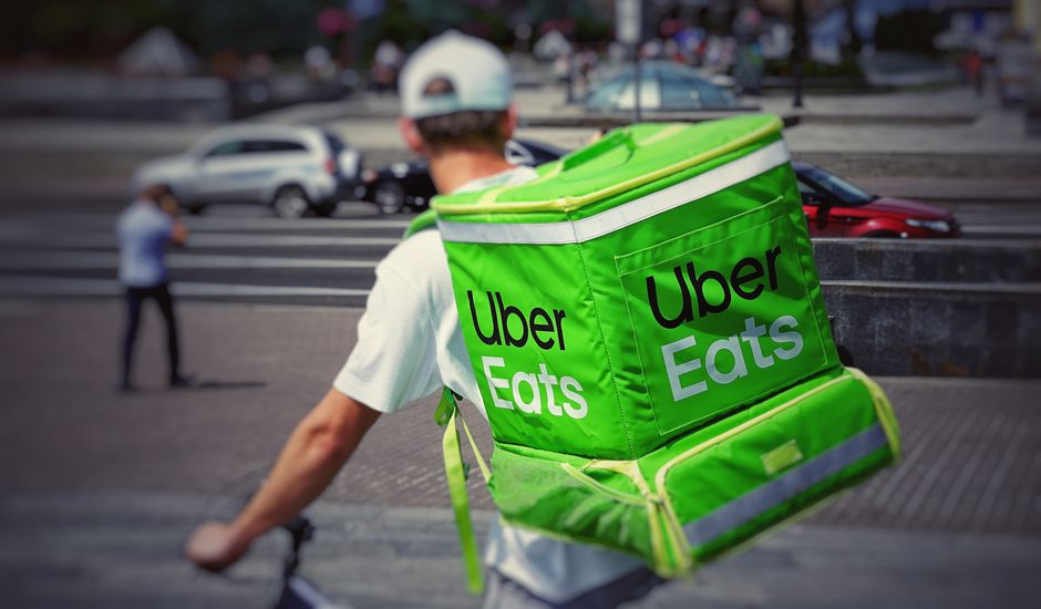 "Uber Eats ""dine-in"""