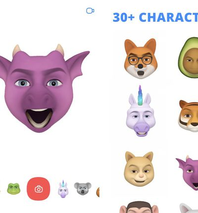 Chudo : l'application qui transforme votre visage en renard et en crâne, sans iPhone X !