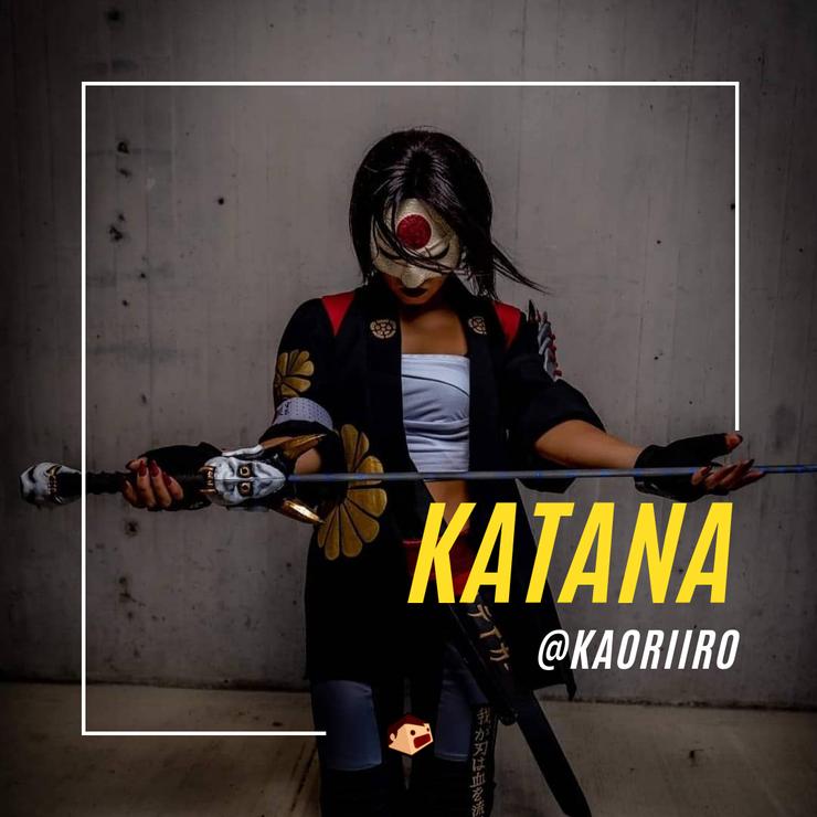 cosplay de katana DC