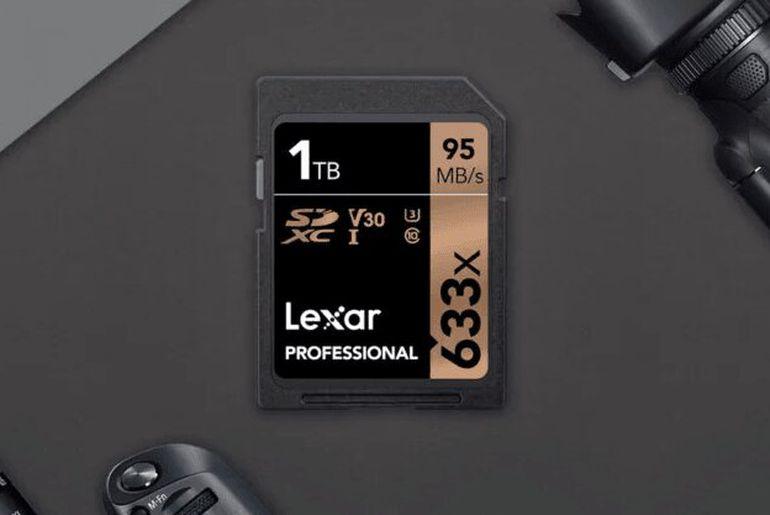 Lexar lance une carte SD pouvant contenir un To de données
