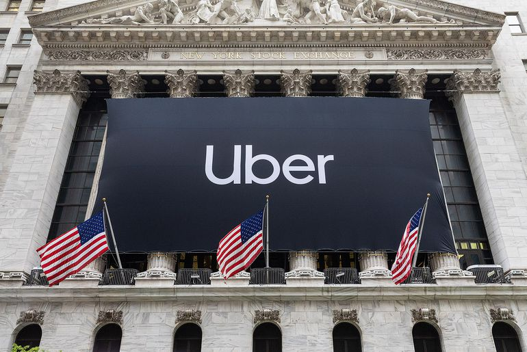 Introduction en bourse de Uber à Wall Street
