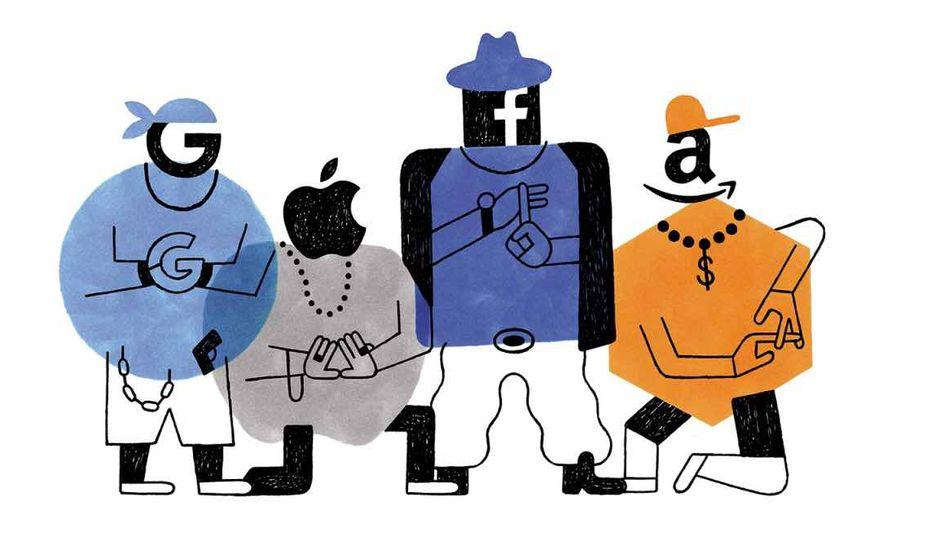 GAFAM Les géants du web dans le viseur de la justice américaine.