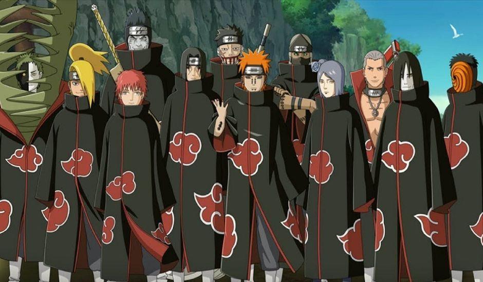 Le poster de la pièce de théâtre Naruto
