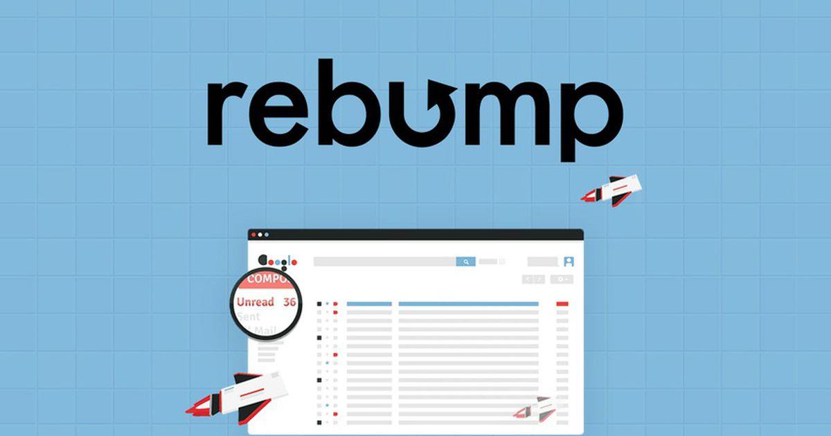 Rebump : un outil qui automatise l'envoi de vos emails de follow-up !