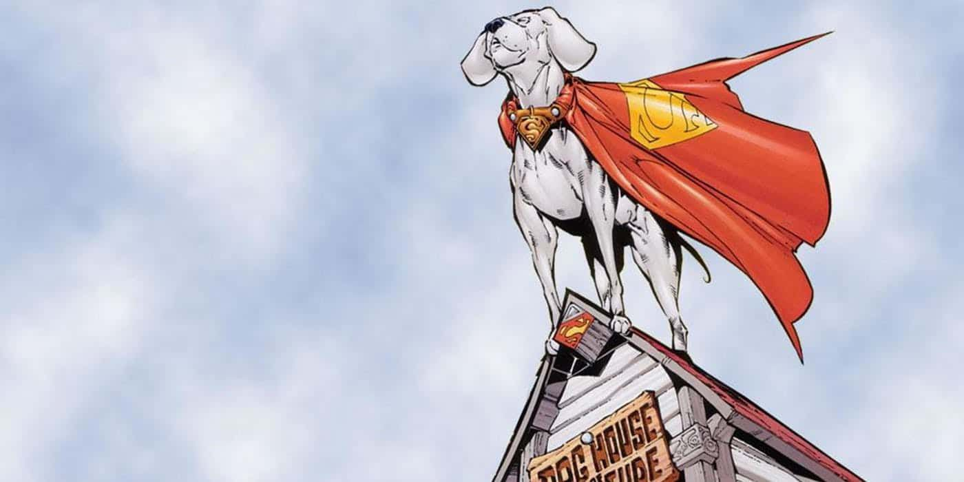 Krypto le chien de superman chez DC Comics