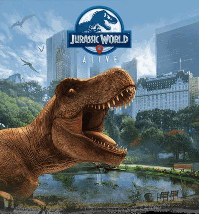 Le jeu Jurassic World Alive verra le jour sur smartphones au printemps !