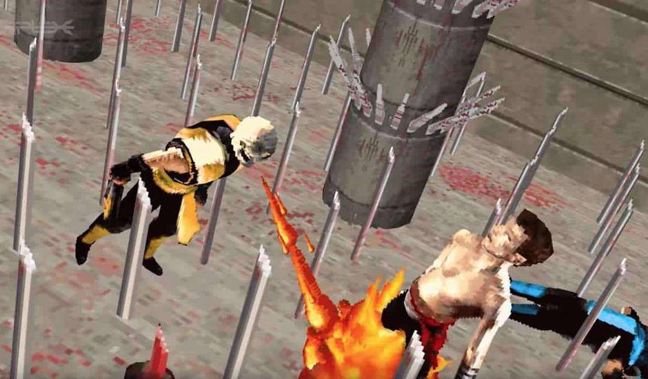 mortal kombat 1 réalisé en 3D