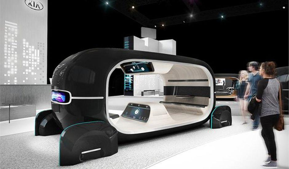 Kia va présenter le futur des voitures autonomes à savoir un espace qui s'adapte aux émotions
