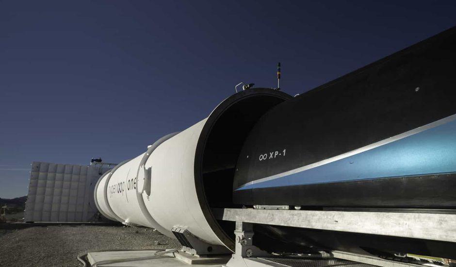 Virgin Hyperloop One vitesse record