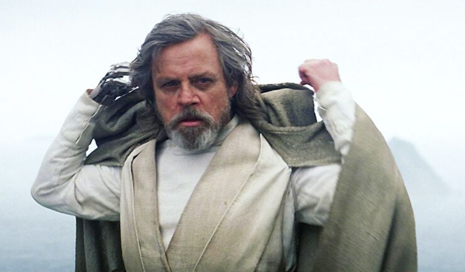 Mark Hamill incarne Luke Skywalker dans Star Wars : Le Réveil de la Force