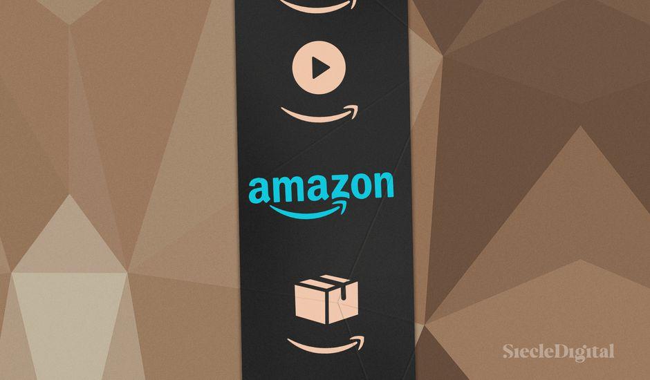 Illustration représentant le bandeau Amazon que l'on retrouve sur les colis