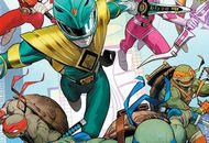 comics crossover les tortues ninja et les power rangers