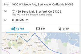 LinkedIn déploie une fonctionnalité sur la distance de votre nouveau travail