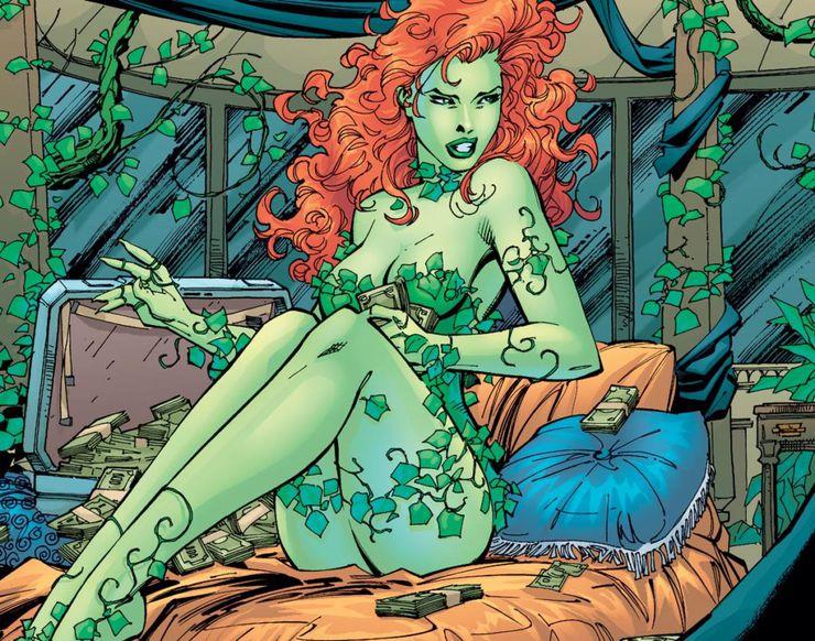 poison ivy dans les comics DC