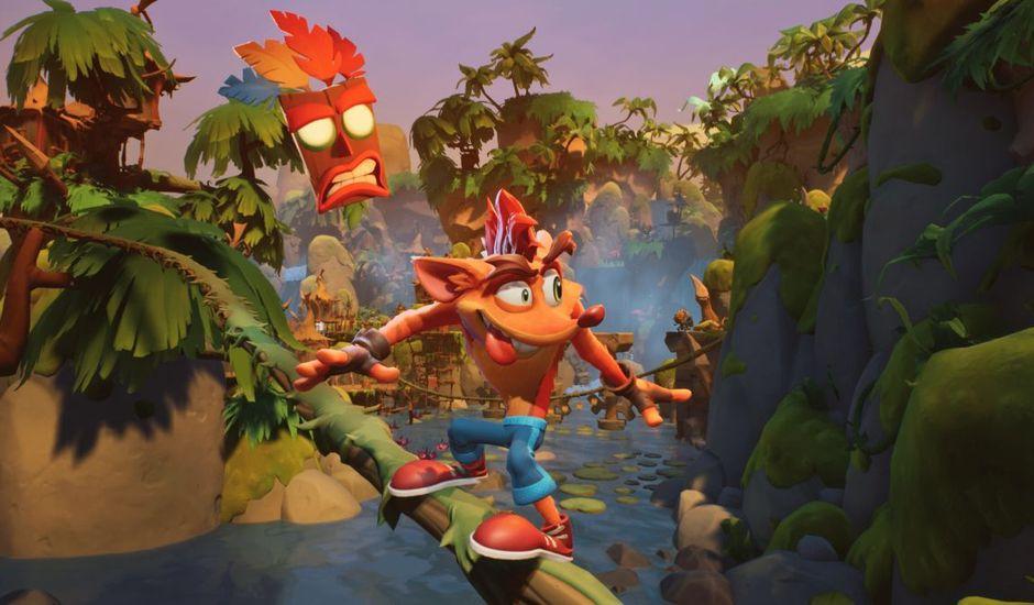 Image promotionnelle pour Crash Bandicoot 4 : It's About Time