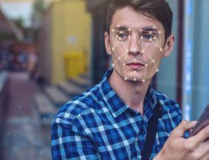 reconnaissance faciale sur un visage