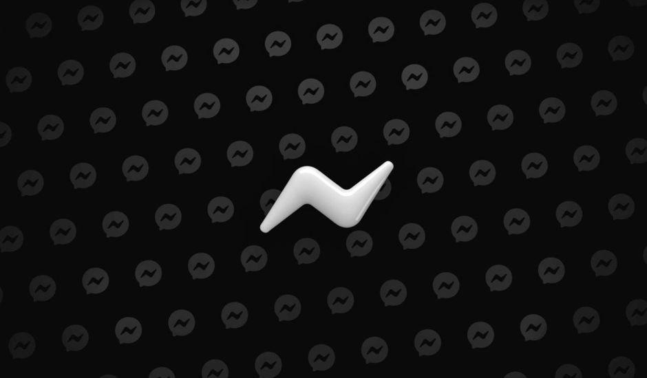 Le dark mode accessible à tous sur Messenger