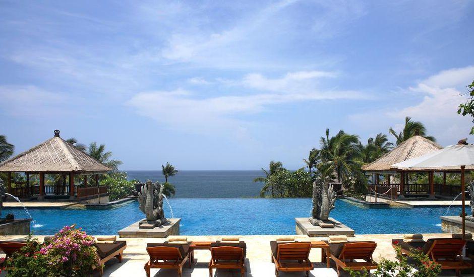 Le cadre idyllique du Ayana Resort & Spa à Bali