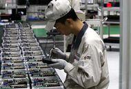 Aperçu d'une usine chinoise.