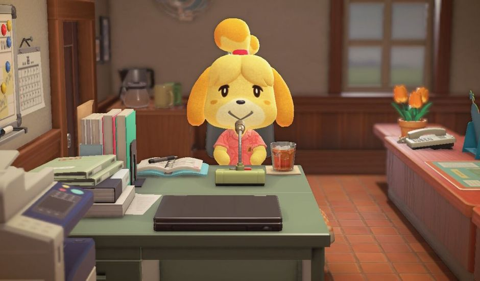 Marie dans Animal Crossing : New Horizons