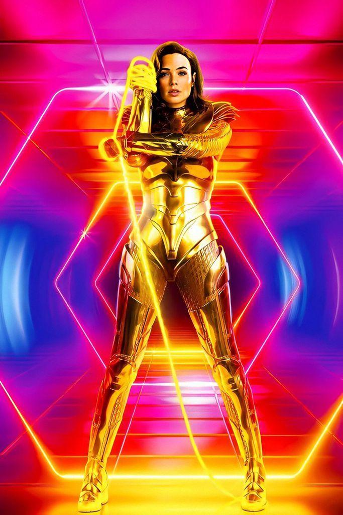 Affiche promotionnelle pour Wonder Woman 1984 avec Gal Gadot