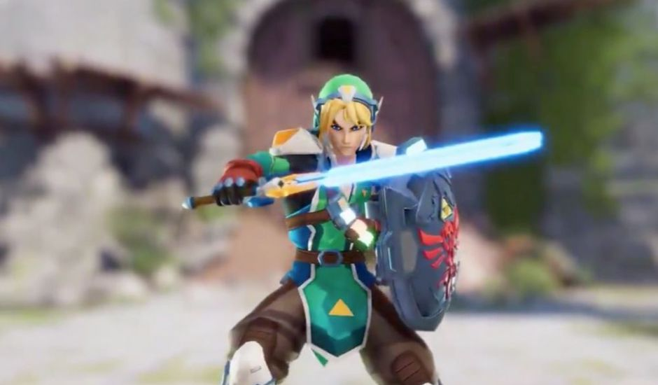 link de the legend of zelda dans overwatch