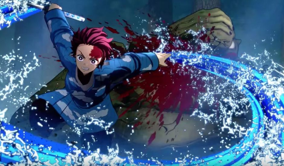 demon slayer kimetsu no yaiba playstation 4 ps4 jeu video teaser