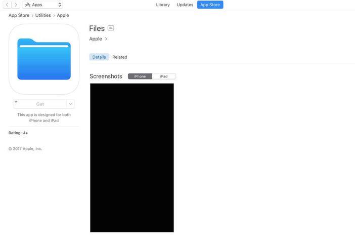 Application Files