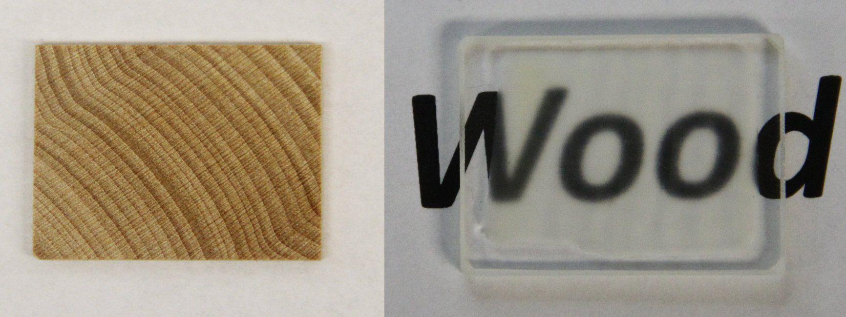 bois transparent