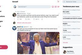 Nouvelle version desktop de Twitter
