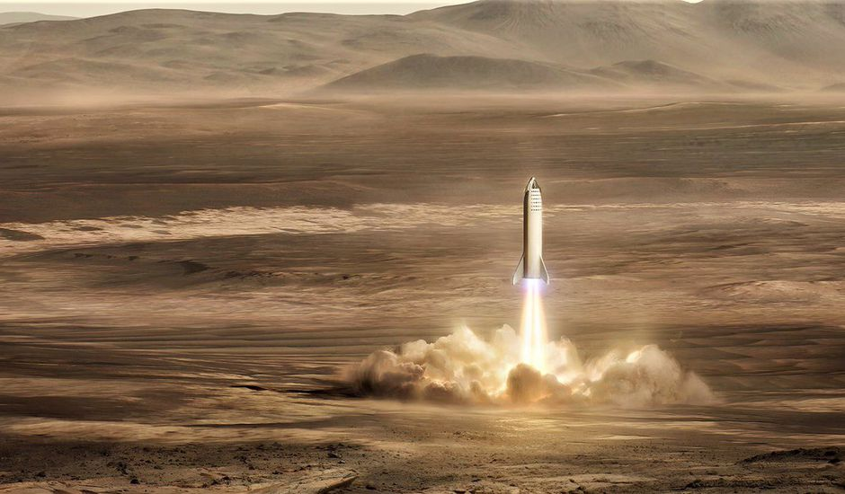Mars Base Alpha SpaceX
