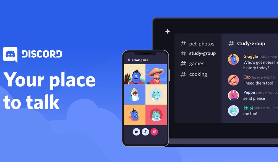 Discord : l'application conçue pour les communautés de joueurs en ligne créée en 2015.