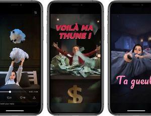 rendu de la nouvelle fonctionnalité de Snapchat Cameo