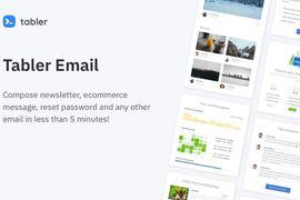 Tabler propose 50 templates d'emails pour votre business