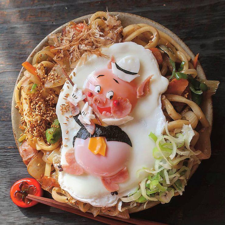 instagram maman cuisine plats trop mignons looney tunes