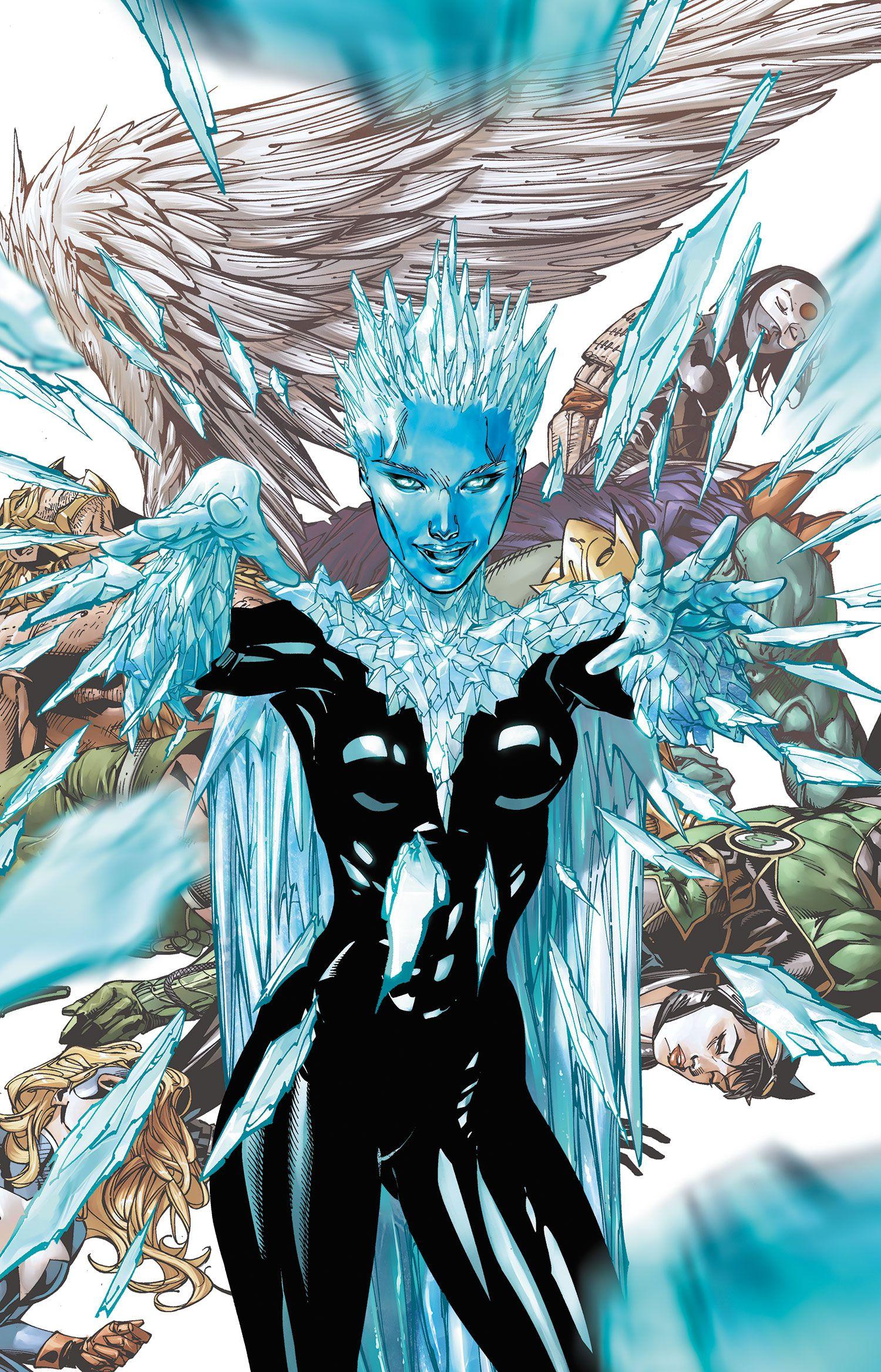 Les super-héros et super-méchants aux pouvoirs de glace