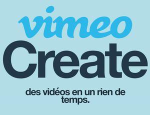 Le logo de Vimeo Create