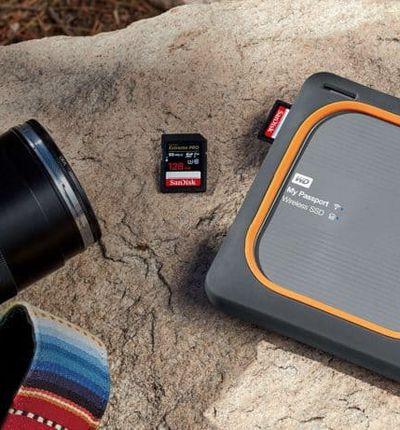 Passport wireless SSD Western Digital