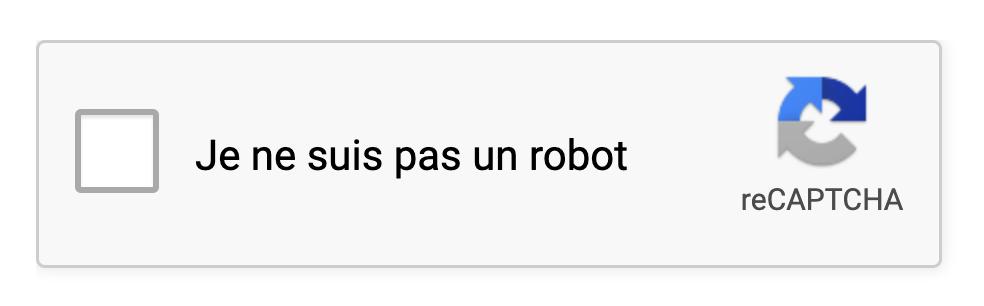 je ne suis pas un robot