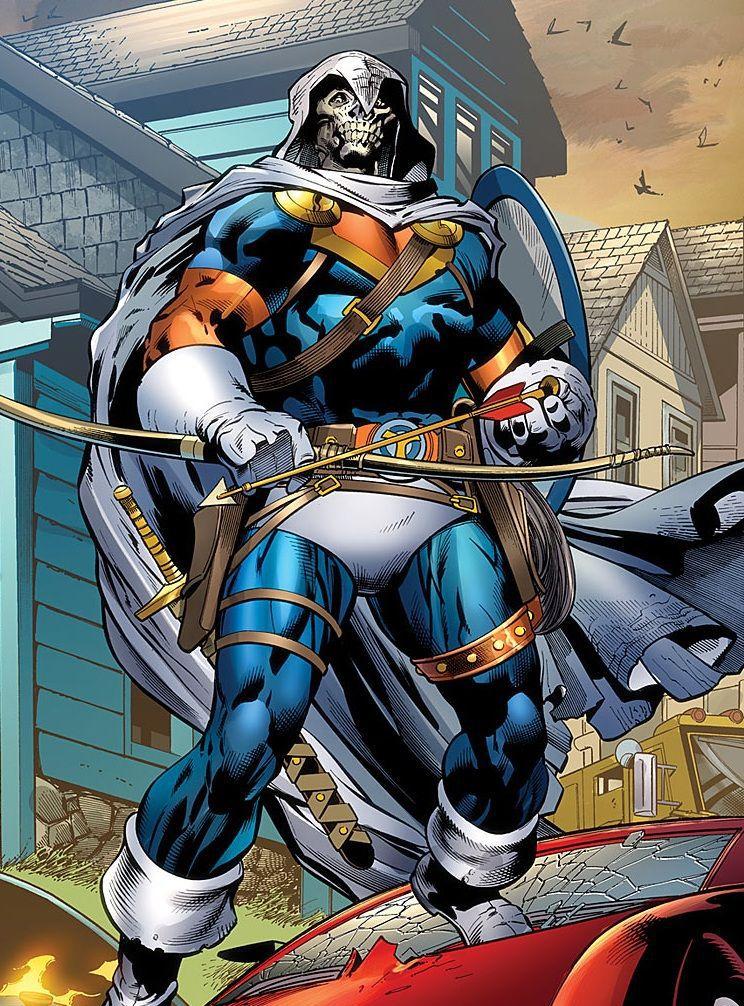 taskmaster costume marvel comics
