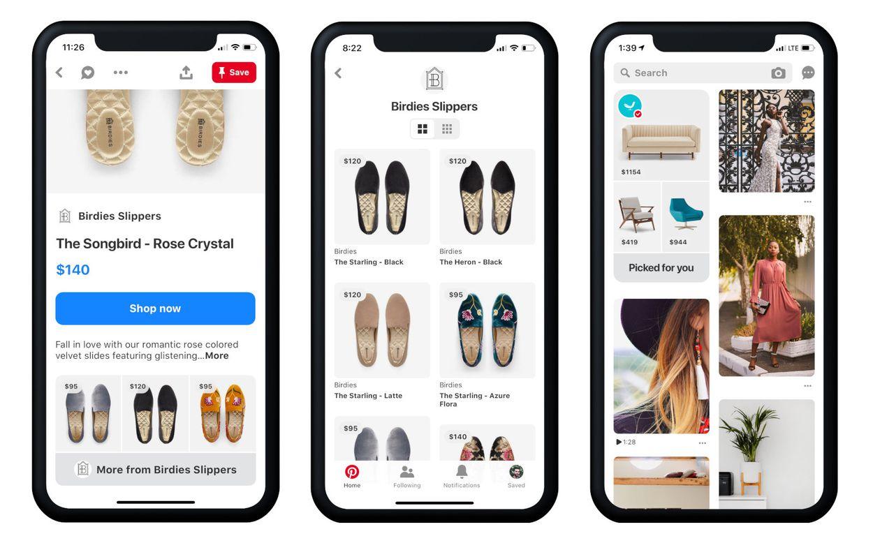 Pinterest développe une fonctionnalité dédiée au shopping en ligne